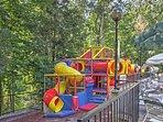 The kids will love the playground!