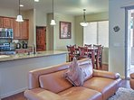 You'll love the open layout of the beautifully updated home.
