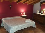 Double bedroom. Balcony with beautiful views of the Ionian Sea and Mount Etna.