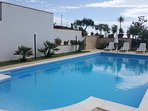 The pool is for the exclusive use of guests and it's open from April to October.