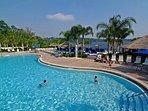 1 of 3 resort pools