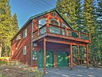 Have the lovely Lake Tahoe area retreat when you book this Truckee home!