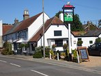Award winning The Pointer Inn, our local pub and restaurant. Only 5-10 min walk away. Fabulous food.