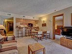 SkyRun Property - '241C Mountain Side 2BR 2BA' - Spacious & Open Living Area - Enjoy a relaxing stay in this open and...