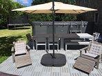 alfresco dining & swimming pool / spa
