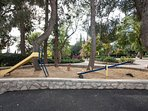 Children Playground At The Rose Garden