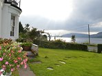 Waterfront location with spectacular loch views