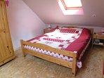 chambre lit 160 + lit bébé