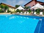 Both villas with pool
