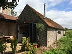 Annexe with extra bedroom, bathroom and kitchen