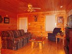 Great Room with sleeper sofa and recliner