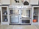 Impressive range cooker