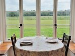 A breakfast table and a view to remember!