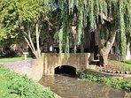 ... and a bridge over the River Avon!