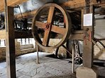 If you ask nicely, the owners might show you the working water wheel!