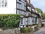 Classic, timber framed houses in this lovely village