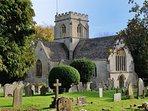 St Kenelm's parish church...