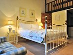 The fabulous ensuite double bedroom, on the ground floor