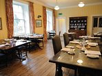 Dining facilities within the Inn