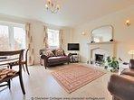 Smart, relaxing, living room