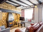 Cosy, characterful living room