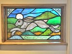 Feature stained glass