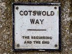 Chipping Campden is either the beginning or the end of the Cotswolds Way walking path