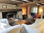 The cottage dates back to the 16th century!