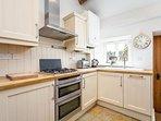 Smart, modern kitchen