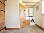 Utility room and downstairs WC