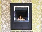 Coal effect fireplace
