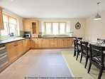 Spacious, modern and well-presented kitchen