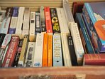 A chest full of books and games!