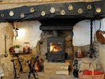 Fabulous inglenook fireplace