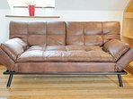 Sofa bed in the sofa position