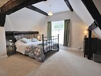 Characterful bedroom 5, in the eaves