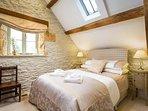 A smart, cosy bedroom