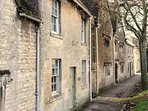Northleach village, filled with character and old world charm