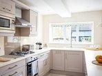 A smart, stylish kitchen
