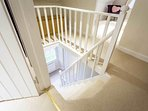 PLEASE TAKE NOTE OF THE OPEN STAIRS IMMEDIATELY OUTSIDE BEDROOM 4