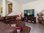 TV corner of recreation room