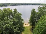 Private and pristine lake frontage