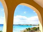 Vista panoramica dalla veranda della Villa che regala uno scenario mozzafiato