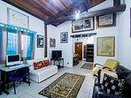 Sala TV e PC - Ilha House