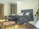 Second suite room