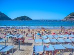 La Concha beach - one of the best in Europe
