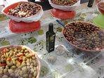 nos préparation d'olives verte et noire