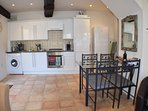 Ground floor kitchen area