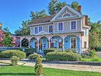 You're sure to have a one-of-a-kind Augusta getaway when you book this Painted Lady vacation rental home!