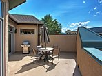 You'll love unwinding on the vacation rental's private furnished patio.